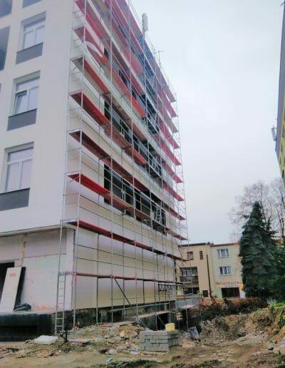 Termomodernizacja budynku w Puławach przy ul. Kołłątaja 18