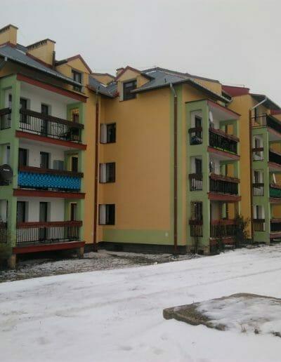 Docieplenie ścian i remont balkonów w Garbowie ul. 3-go Maja 3