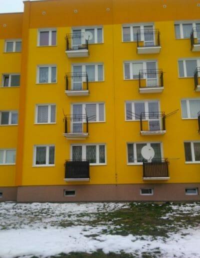 Termomodernizacja i remont balkonów w Zagrodach  Nr 112E